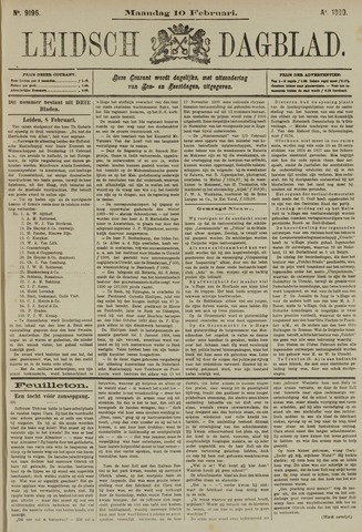 Leidsch Dagblad 1890-02-10