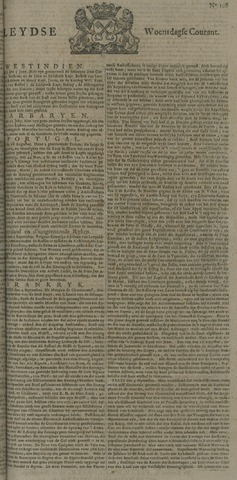Leydse Courant 1722-09-09