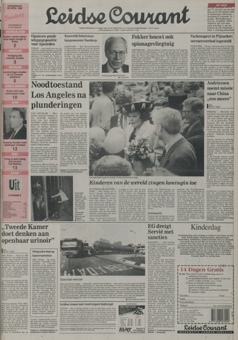 Leidse Courant 1992-04-30