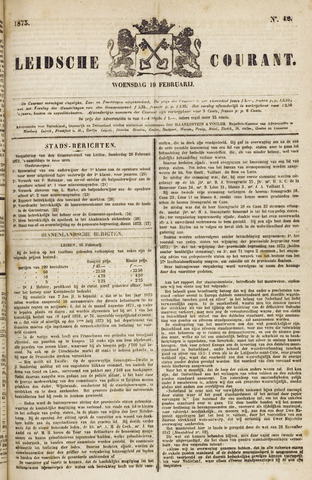 Leydse Courant 1873-02-19