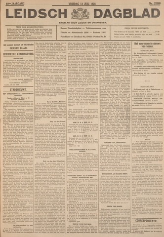 Leidsch Dagblad 1928-07-13