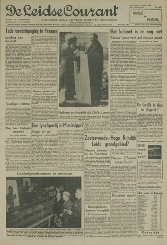 Leidse Courant 1959-04-27