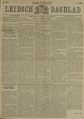 Leidsch Dagblad 1904-11-18