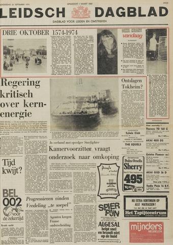 Leidsch Dagblad 1974-09-26