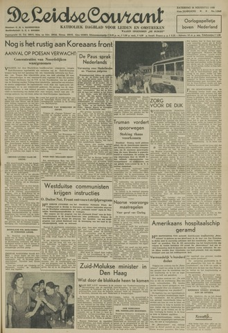 Leidse Courant 1950-08-26