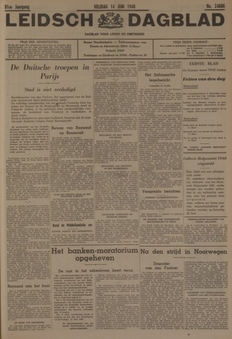 Leidsch Dagblad 1940-06-14