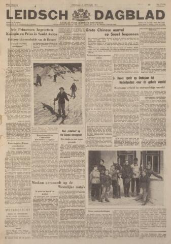 Leidsch Dagblad 1951