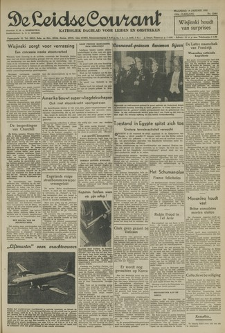 Leidse Courant 1952-01-14