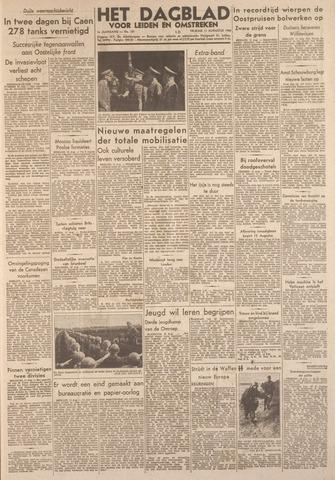 Dagblad voor Leiden en Omstreken 1944-08-11