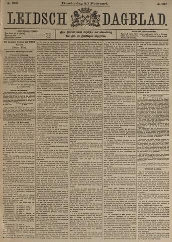 Leidsch Dagblad 1897-02-25