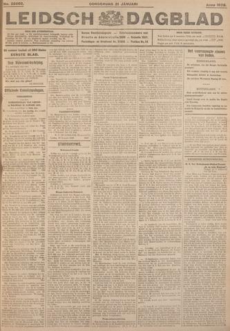 Leidsch Dagblad 1926-01-21