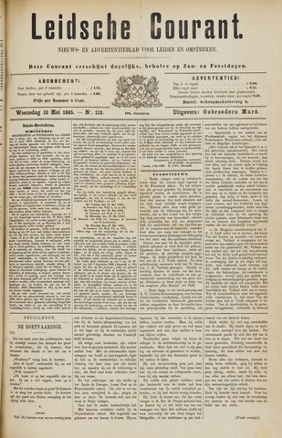 Leydse Courant 1885-05-13