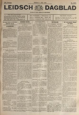 Leidsch Dagblad 1933-07-04