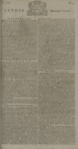Leydse Courant 1739-04-06