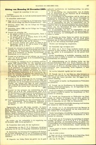 Handelingen van de Raad 1928-12-10
