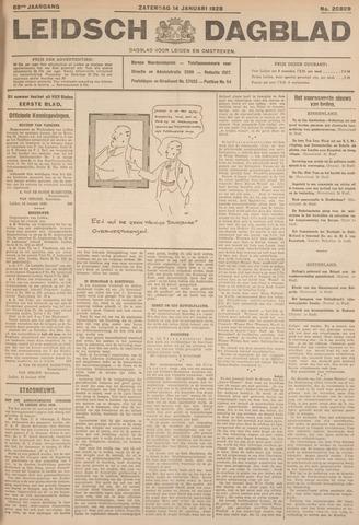 Leidsch Dagblad 1928-01-14