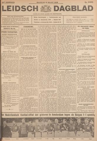 Leidsch Dagblad 1928-03-12