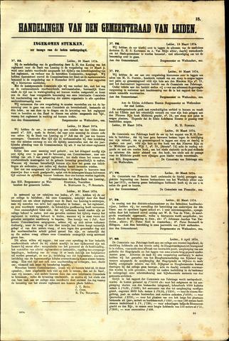 Handelingen van de Raad 1874-03-26