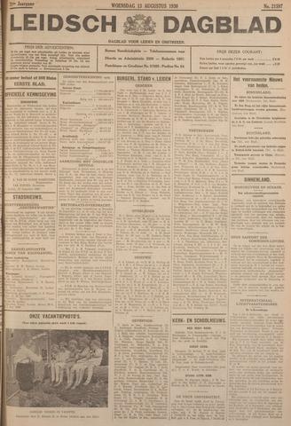 Leidsch Dagblad 1930-08-13