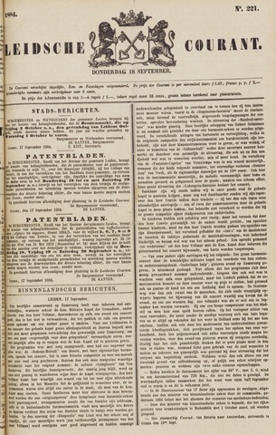 Leydse Courant 1884-09-18