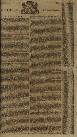 Leydse Courant 1751-04-30
