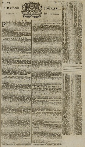 Leydse Courant 1803-09-21