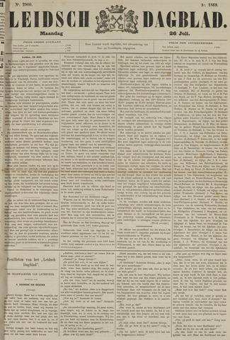 Leidsch Dagblad 1869-07-26