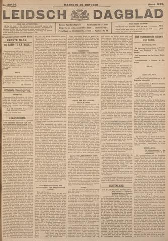 Leidsch Dagblad 1926-10-25