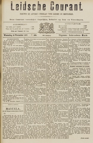 Leydse Courant 1887-11-16