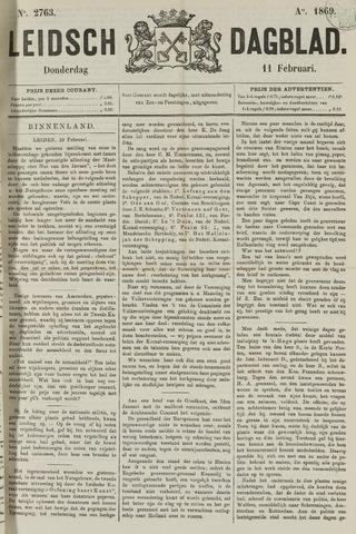 Leidsch Dagblad 1869-02-11