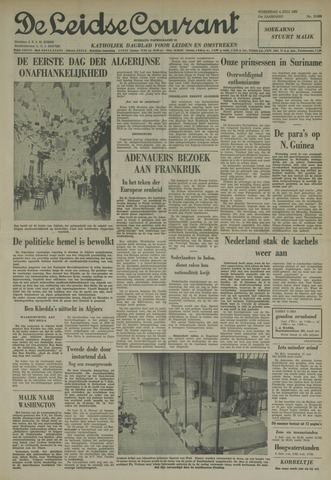 Leidse Courant 1962-07-04