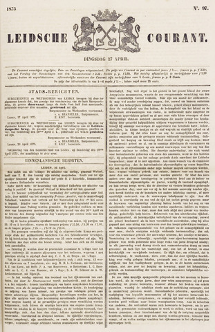 Leydse Courant 1875-04-27