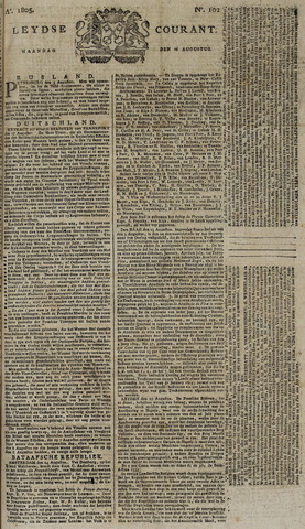 Leydse Courant 1805-08-26