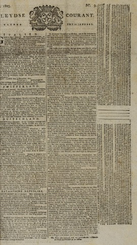 Leydse Courant 1803-01-21