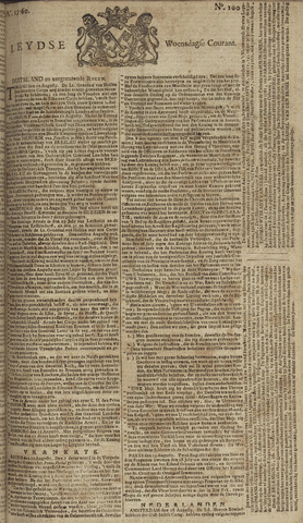 Leydse Courant 1760-08-20