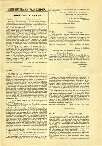 Handelingen van de Raad 1933-05-22