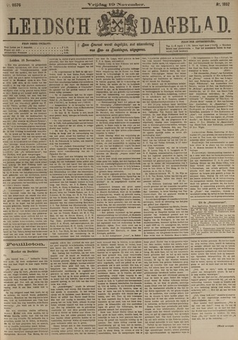 Leidsch Dagblad 1897-11-19