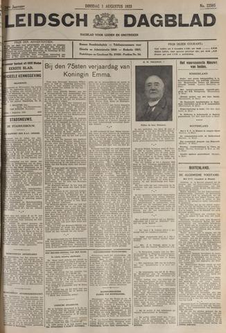 Leidsch Dagblad 1933-08-01