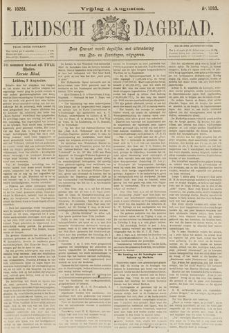 Leidsch Dagblad 1893-08-04