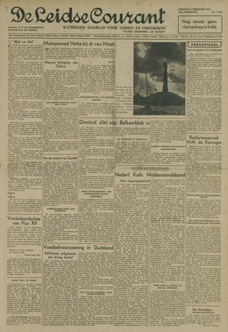 Leidse Courant 1948-02-03
