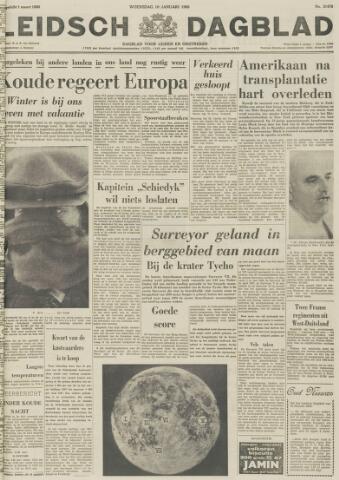 Leidsch Dagblad 1968-01-10