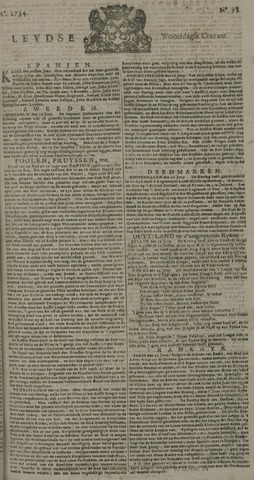 Leydse Courant 1734-06-30