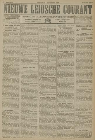 Nieuwe Leidsche Courant 1927-09-01