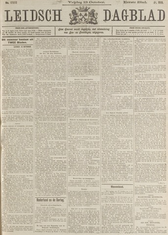 Leidsch Dagblad 1916-10-13