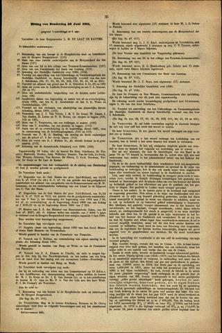 Handelingen van de Raad 1881-06-30