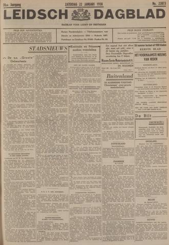 Leidsch Dagblad 1938-01-22