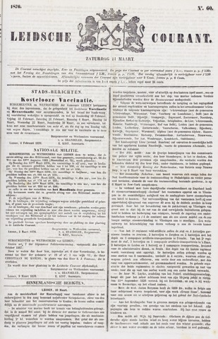 Leydse Courant 1876-03-11