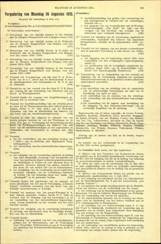 Handelingen van de Raad 1935-08-26