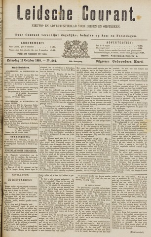 Leydse Courant 1885-10-17