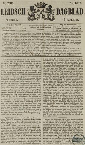 Leidsch Dagblad 1867-08-14